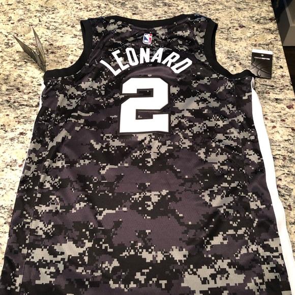 new arrival 54ba6 2685a 🔥🔥 Kawhi Leonard San Antonio Spurs camo Jersey. NWT